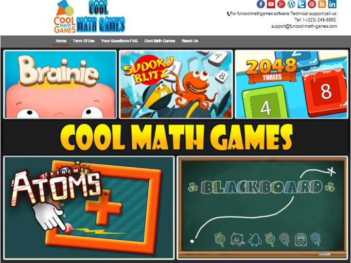 Funcool Math games
