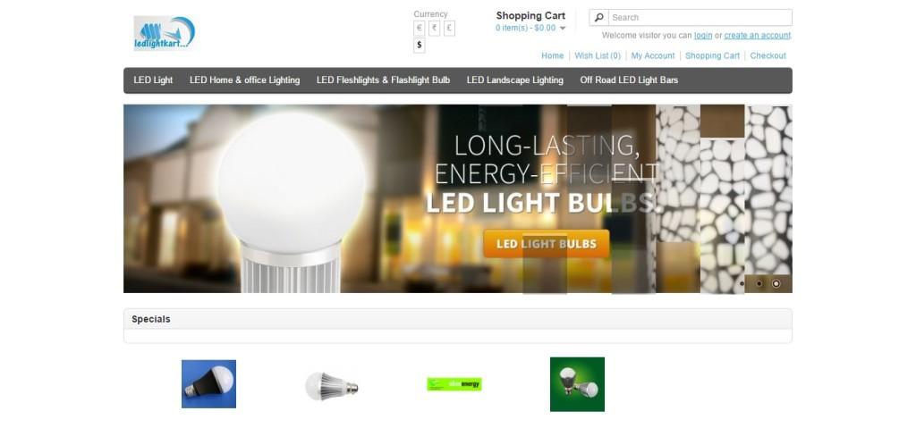 Ecommerce Light online Store