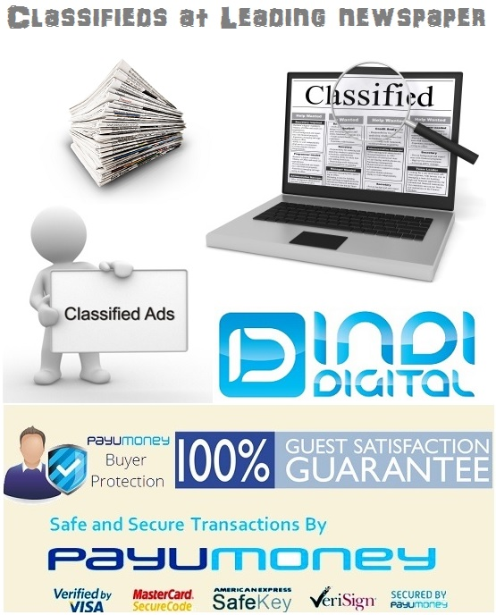 Classifieds at Leading newspaper
