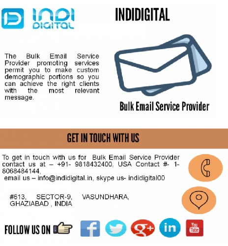 Enhance your marketing with Bulk Email Service Provider in