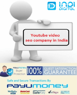 Indidigital, Youtube video seo company in India, Youtube video seo company, video seo company in India