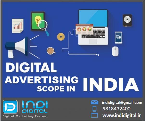 Digital advertising scope in India