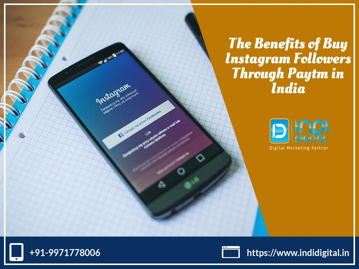What are the benefits of buy Instagram followers through