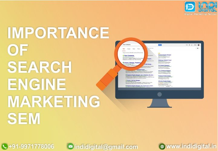 direct response marketing, importance of search engine marketing, online visibility, search engine marketing services, search engine marketing services Delhi, search intent, Search Marketing, search marketing tools, SEM, types of search engine marketing